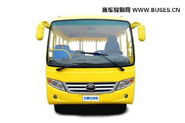 宇通客车GC23A观光车-正面