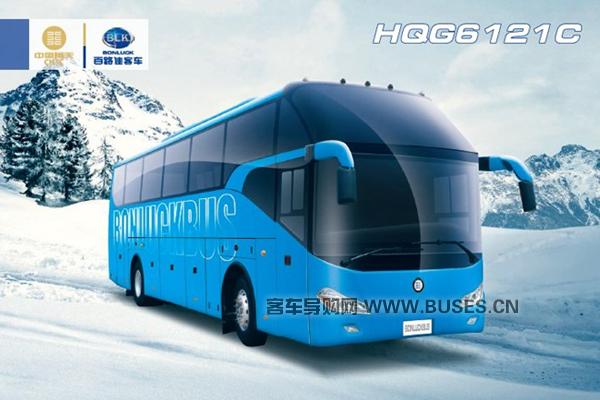 百路佳HQG6122CL5N客车(天然气国五24-59座)