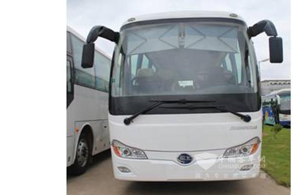 百路佳JXK6901CS43客车(柴油国四24-41座)