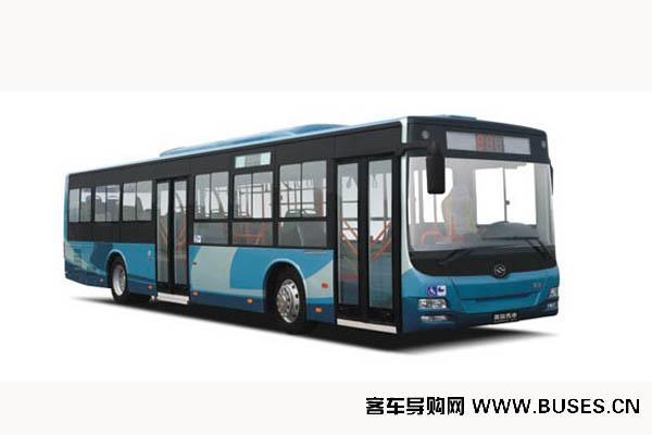 黄海DD6129S16公交车(柴油国四24-40座)