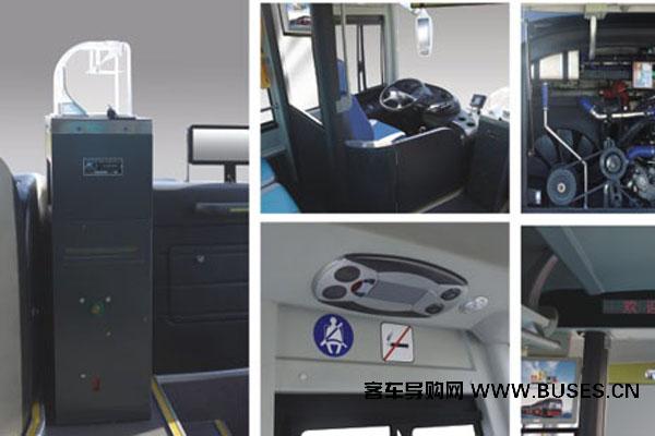 黄海DD6125B01公交车