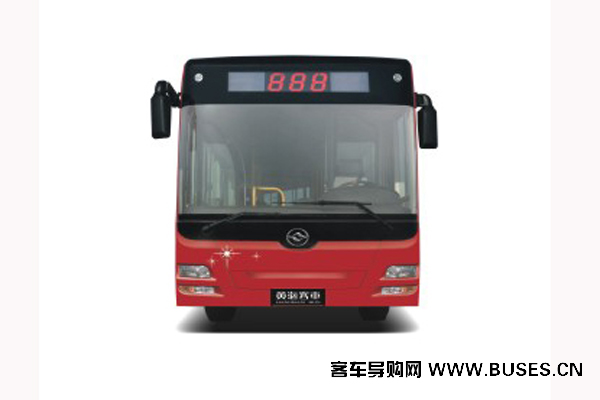 黄海DD6181S05公交车