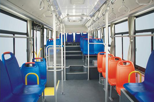 少林SLG6950T5GZR公交车(天然气国五10-36座)