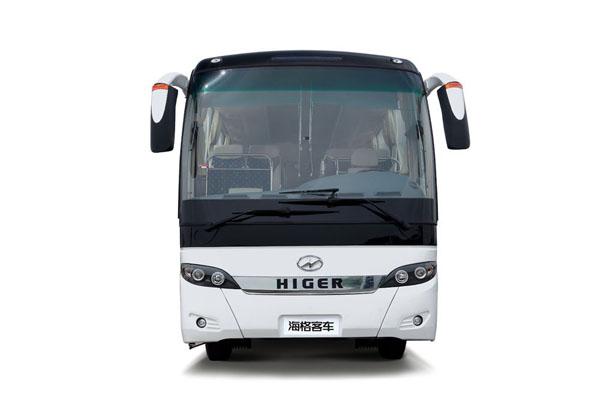 海格klq6125hac51客车(天然气国五24-57座)