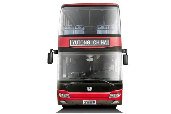 宇通ZK6116HNGS2双层城市客车(天然气国五10-80座)