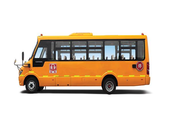 海格KLQ6806XQE4小学生专用校车(柴油国五24-43座)
