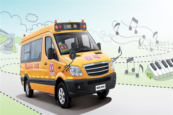 海格KLQ6590XAE2幼儿专用校车(柴油国四10-19座)