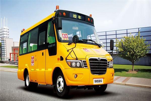 海格KLQ6606XQE4A2幼儿专用校车(柴油国四24-28座)