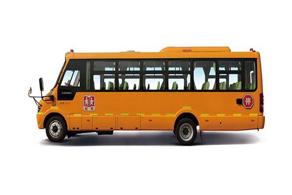 海格KLQ6896XQE5B小学生专用校车(柴油国五24-51座)