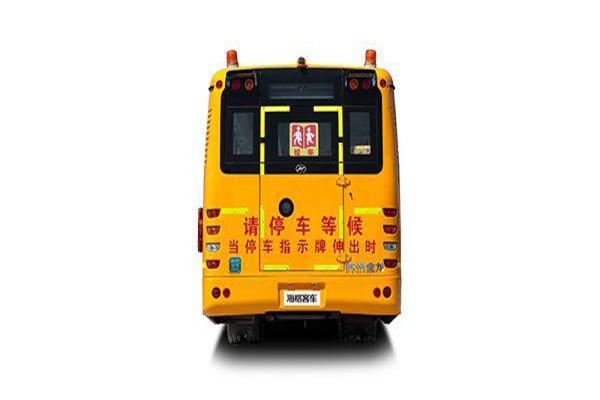 海格KLQ6106XQE4小学生校车(柴油国四24-56座)