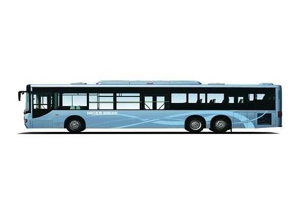海格KLQ6140GAC5公交车(天然气国五24-54座)