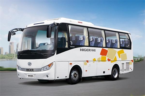 海格KLQ6755KQE51客车(柴油国五24-31座)