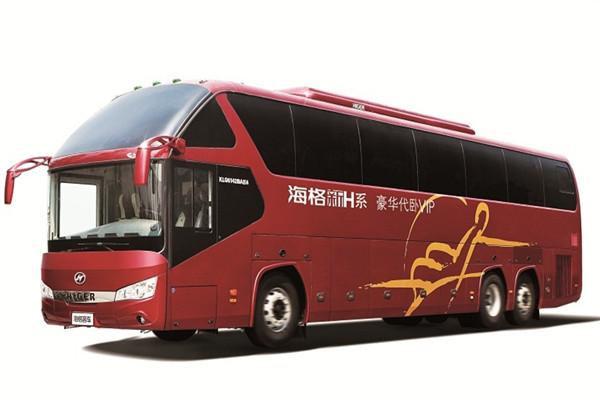 海格KLQ6142BAE41客车(柴油国四24-65座)
