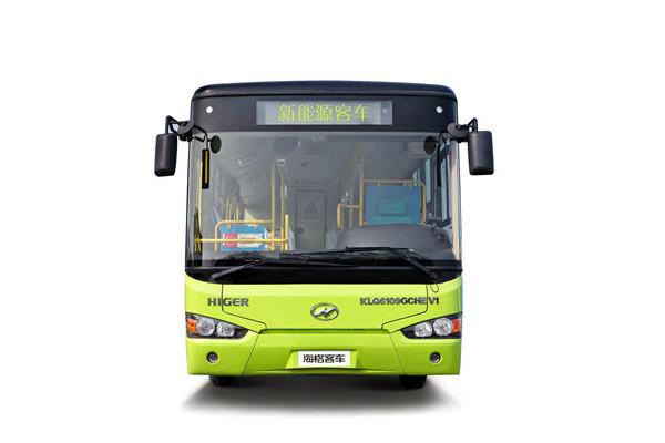 海格KLQ6109GAEVX1公交车(纯电动24-42座)