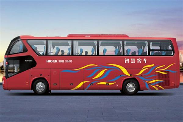海格KLQ6122DAE51B客车(柴油国五24-63座)