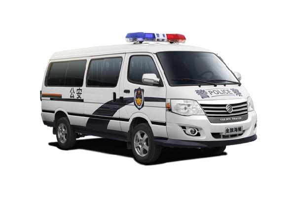 金旅XML5035XQC65囚车(汽油国五5-9座)