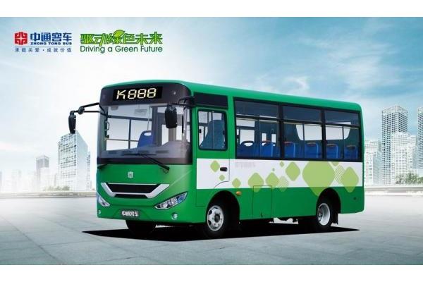 中通LCK6669D4GE公交车(柴油国四10-25座)