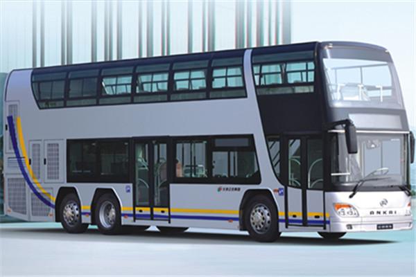 安凯HFF6120GS01D双层公交车