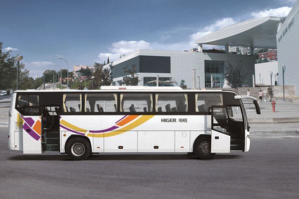 海格KLQ6115HZAHEVE50E混合动力客车(柴油混合动力国五24-53座)
