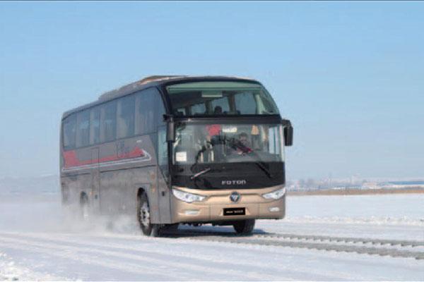 福田欧辉BJ6122U8BKB-5客车(柴油国四24-57座)