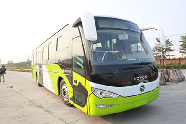福田欧辉BJ6127PHEVUA客车(天然气/电混合动力国四24-67座)