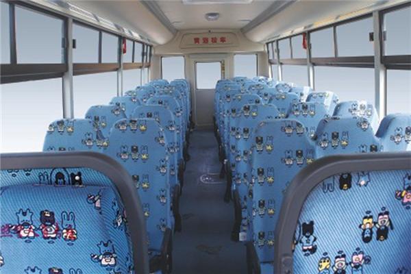 黄海DD6930C01FX中小学生专用校车(柴油国四24-46座)