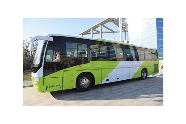 福田欧辉bj6127c8mtb客车(天然气国五24-61座)图片