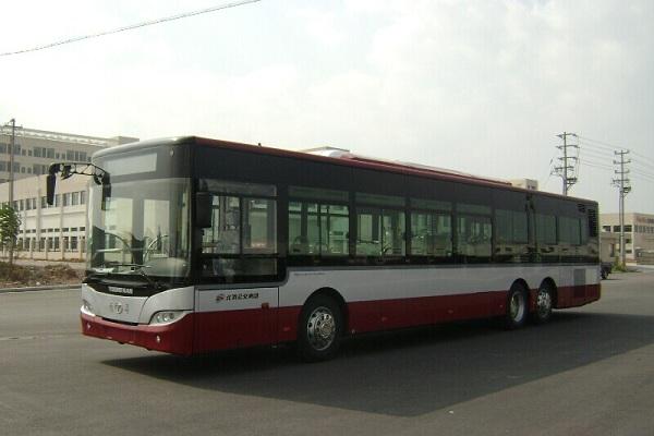 青年JNP6140GVC公交车(天然气国五30-49座)