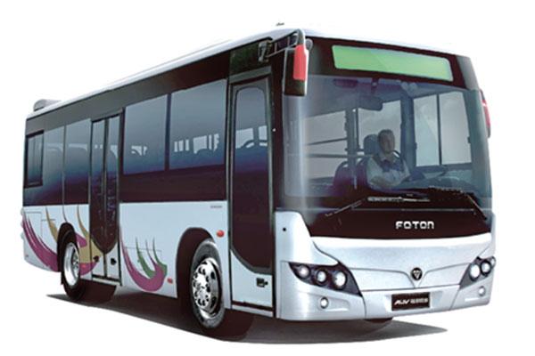 福田欧辉BJ6901C6MCB-3公交车(天然气国五10-32座)