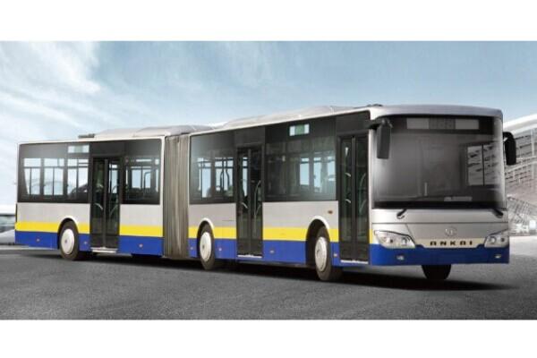 安凯HFF6180G02L铰接公交车(LPG国四25-57座)