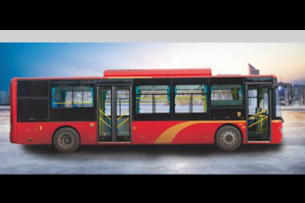 常隆YS6102GBEV公交车
