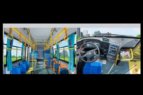 常隆YS6107GBEV公交车
