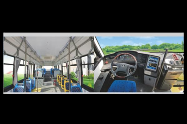 常隆YS6109GBEV公交车