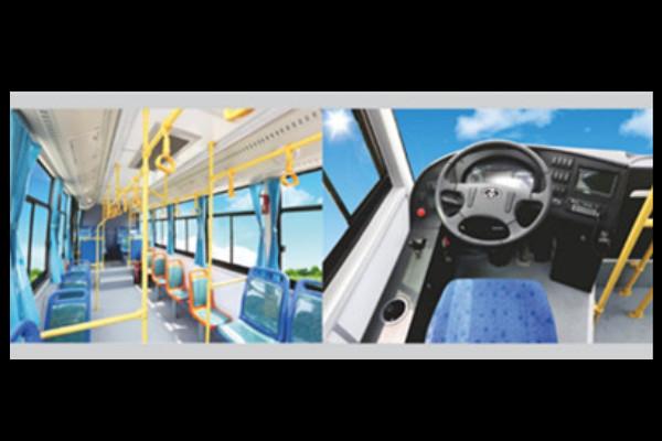 常隆YS6834GBEV公交车
