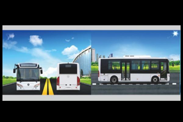 常隆YS6836GBEV公交车