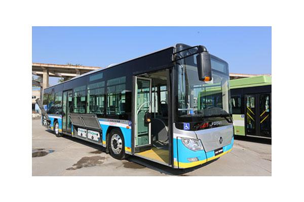 福田欧辉BJ6105C6MCD公交车(天然气国五19-41座)