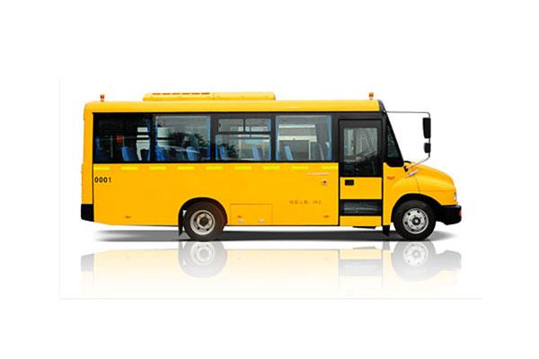 福田欧辉BJ6680S6MFB-1幼儿专用校车(柴油国四24-31座)