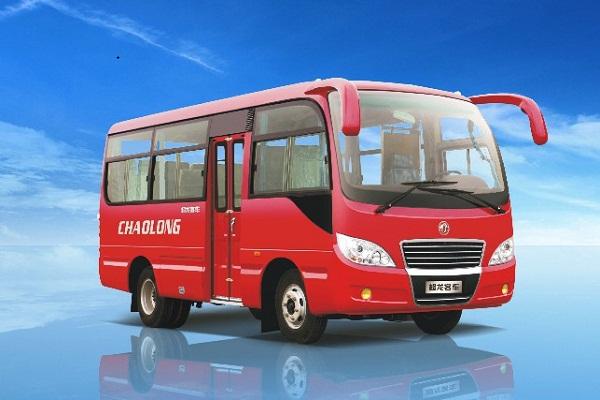 东风超龙EQ6606LTV1客车(柴油国五10-19座)