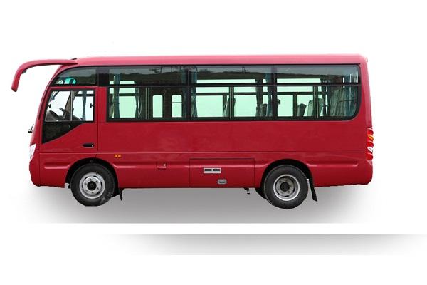 东风超龙EQ6606LTV客车(柴油国五10-19座)