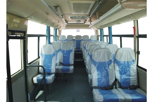 东风超龙EQ6660LTV客车(柴油国五10-23座)