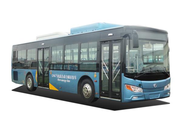 晶马JMV6115GRPHEV1插电式公交车