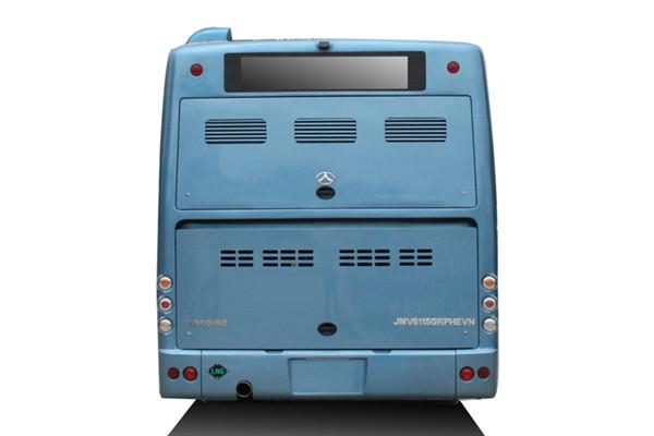 晶马JMV6115GRPHEV插电式公交车