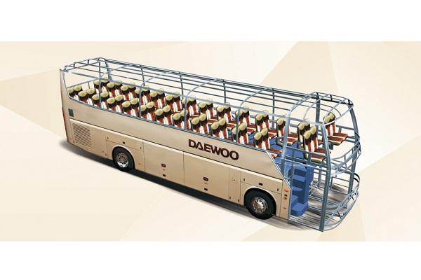 桂林大宇GL6122HCE2客车(柴油国五24-57座)