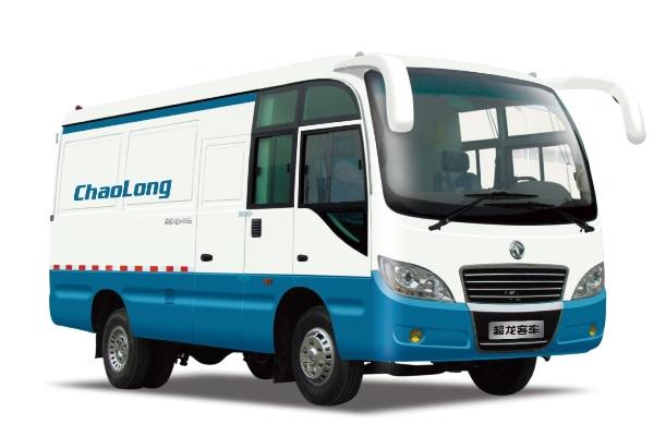 东风超龙EQ5041XXYT2厢式运输车(柴油国四2-6座)
