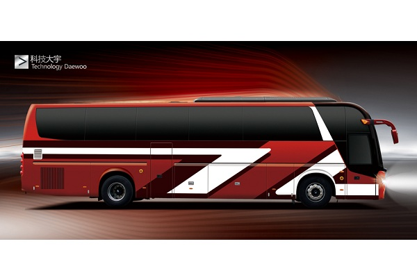 桂林大宇GL6127HKE1客车(柴油国五24-55座)