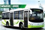 申沃SWB6850Q公交车(天然气国四10-30座)
