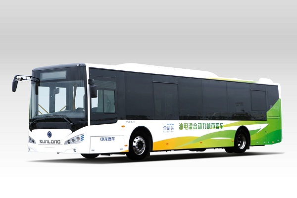 申龙SLK6129ULD5HEVL公交车(柴油混合动力国五10-45座)