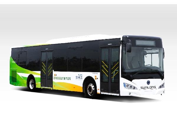 申龙SLK6129ULD5HEVZ1公交车(柴油混合动力国五10-45座)