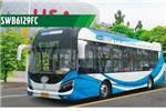 申沃SWB6129FC公交车(燃料电池23-32座)