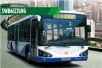 申沃SWB6127LNG公交车(天然气国四29-40座)